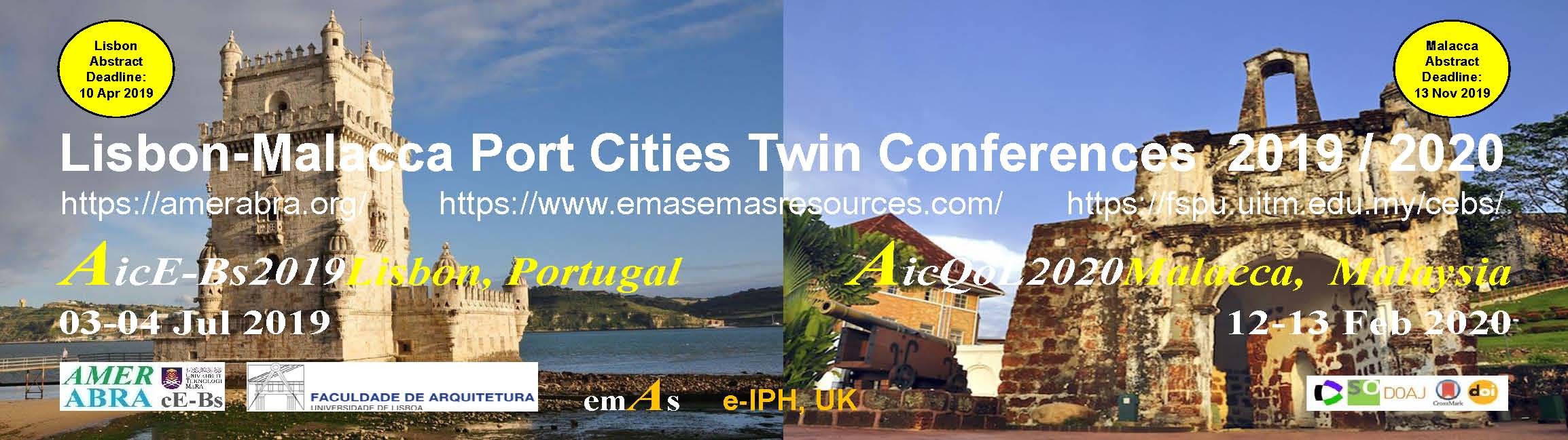 Lisbon-Malacca Port Cities Twin Conferences 2019/2020